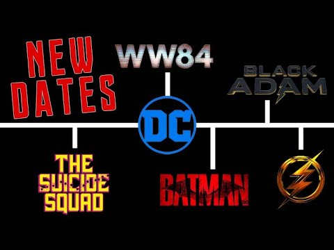DC Comics Films: Complete Release Schedule Through 2023