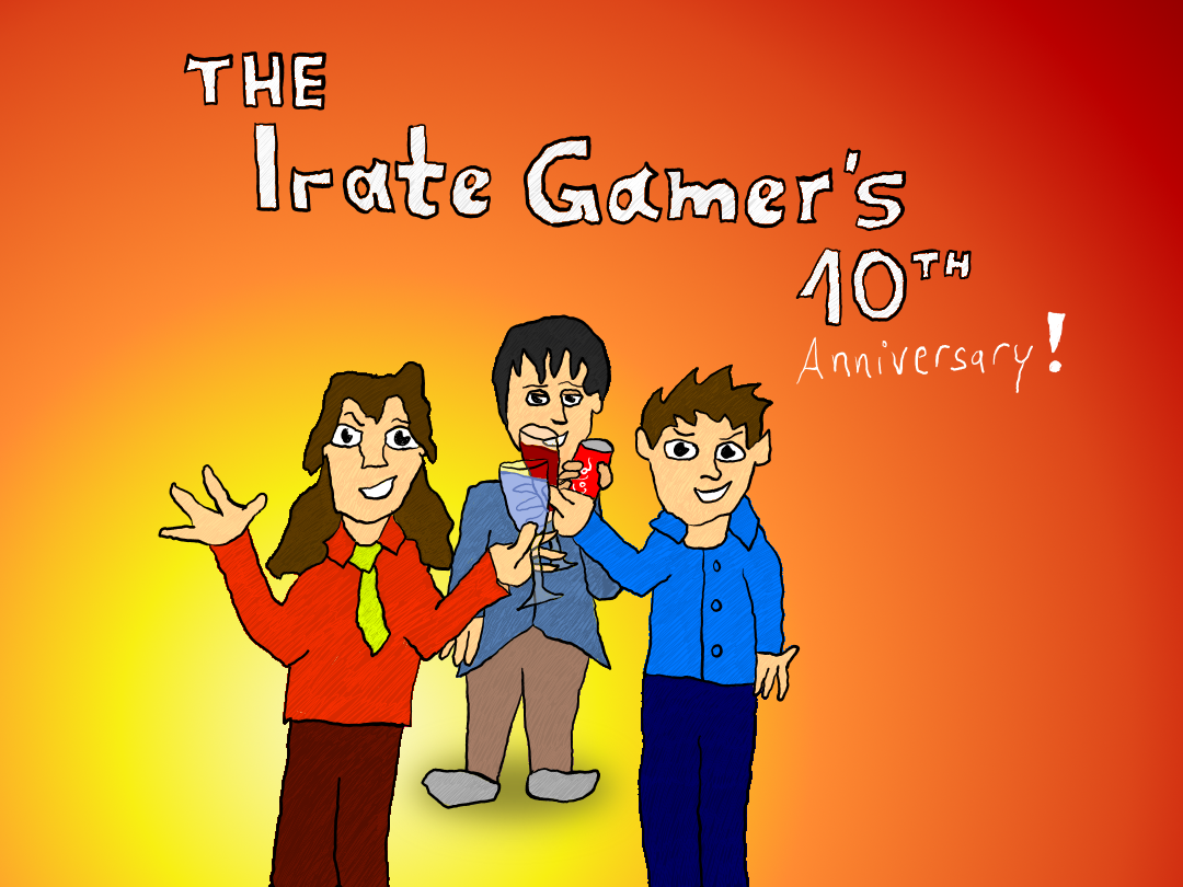 Jack Skyblue Reviews: The Irate Gamer's 10th Anniversary!